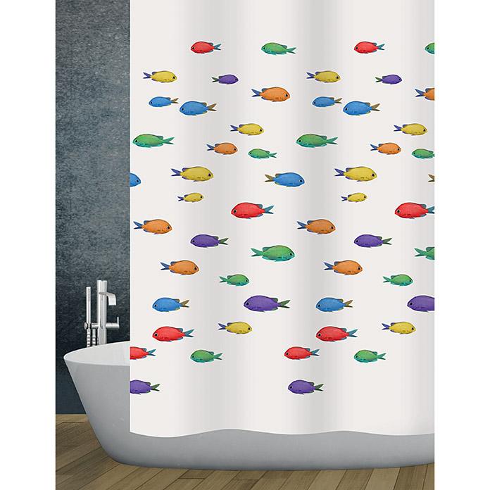 diaqua Textil-Duschvorhang Aquatic
