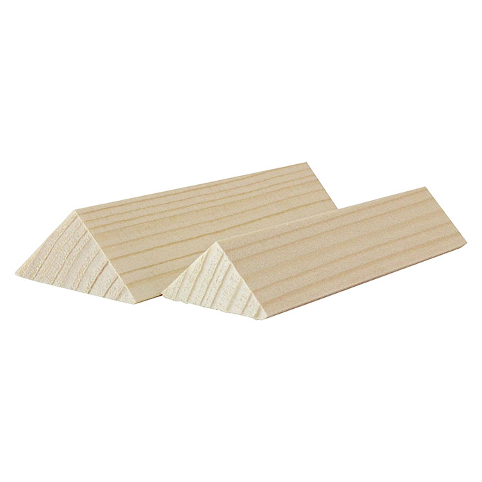 Baguette triangulaire 2400 x 20 x 20 mm