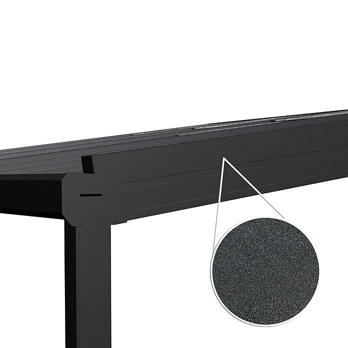 Auvent de terrasse Special Edition avec toit coulissant 5 x 3 m