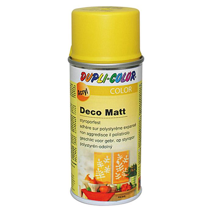 DUPLI-COLOR Deco Matt Acryllackspray RAL 1021