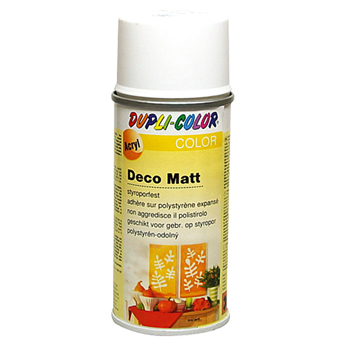 DUPLI-COLOR Deco Matt Acryllackspray RAL 9010