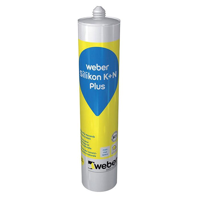 weber silicone K+N Plus beige jura