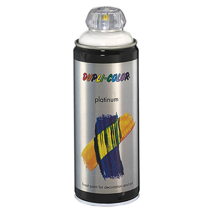 DUPLI-COLOR platinum Laque teintée en spray RAL 9010