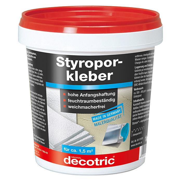 decotric Styroporkleber