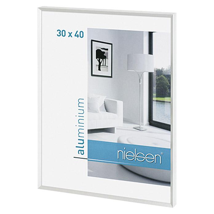 Cadre photo Nielsen Pixel blanc 30 x 40 cm