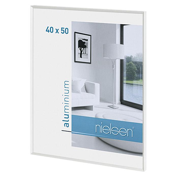 Nielsen Pixel Bilderrahmen Weiss 40 x 50 cm