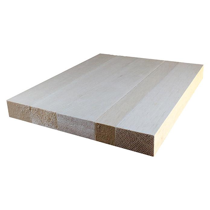 Holzklotz Balsa 455 x 75 x 75 mm