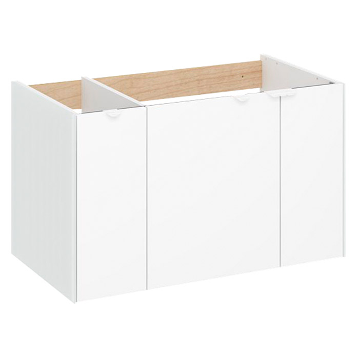 Camargue Waschtischunterschrank Balando 80 Cm Weiss Bei Bauhaus Kaufen
