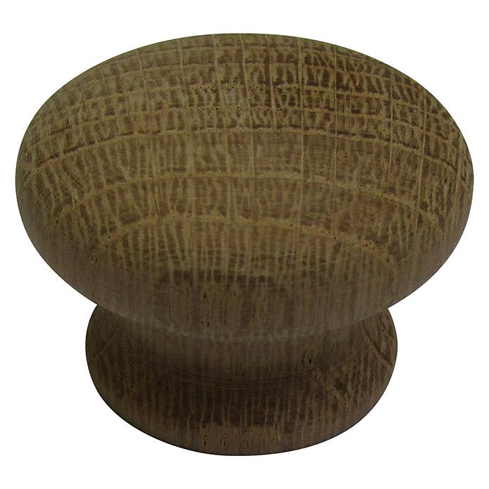 Bouton chêne naturel