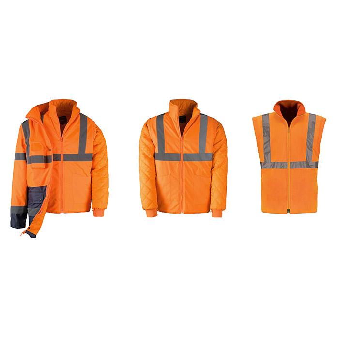 Kapriol® Warnschutzjacke 3 in 1