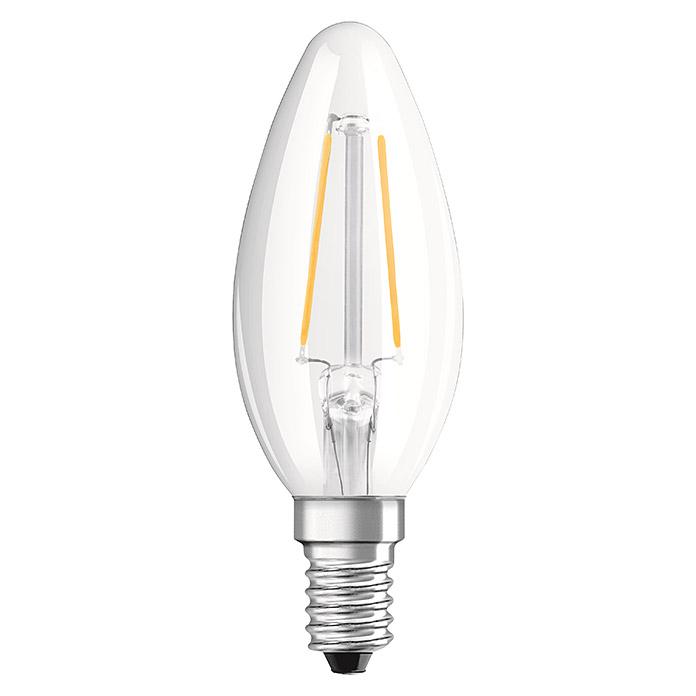 VOLTOLUX LED-Leuchtmittel Filament Kerze