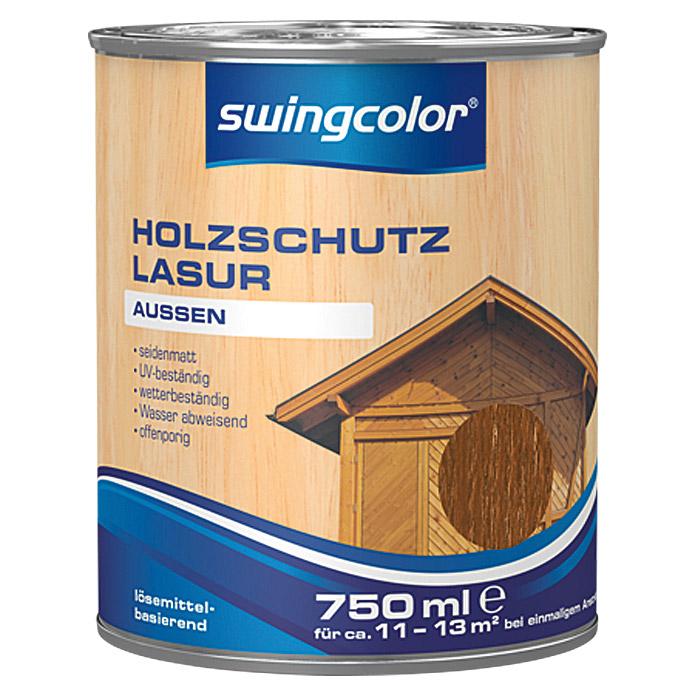 Lasure de protection pour bois swingcolor châtaignier