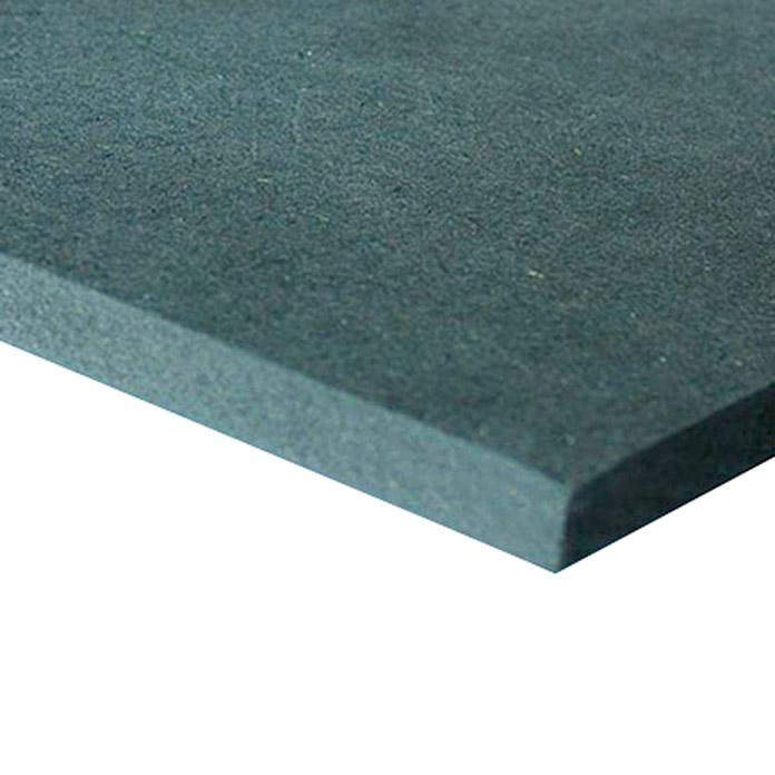 MDF-Platte schwarz 16 mm