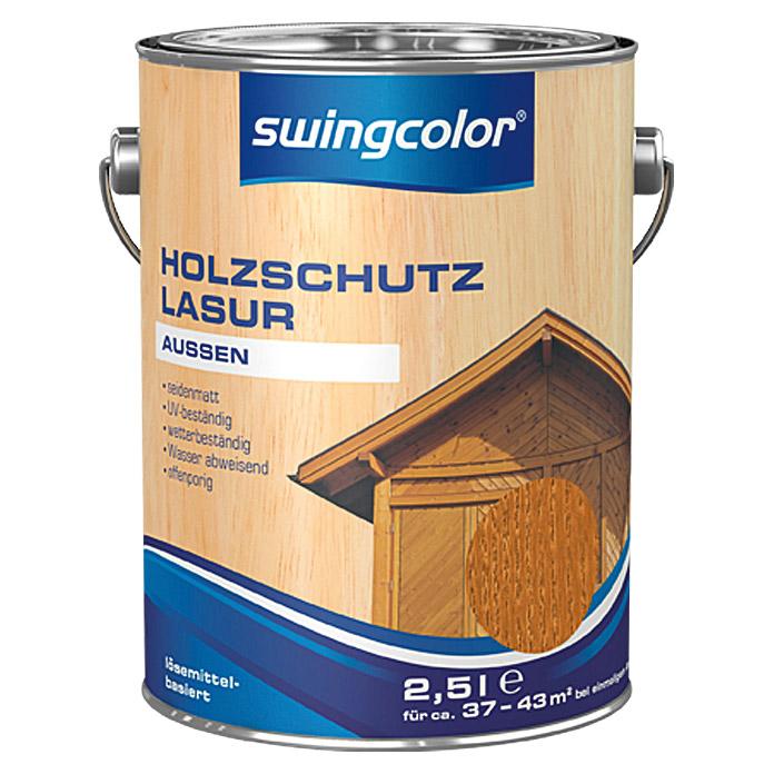swingcolor Holzschutzlasur Teak