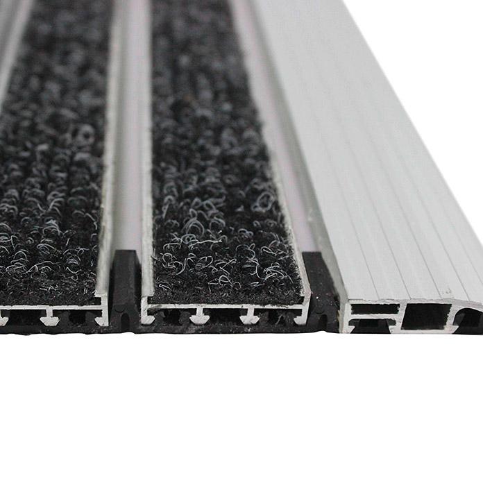 Fussmatte Aluminium 60 x 40 cm