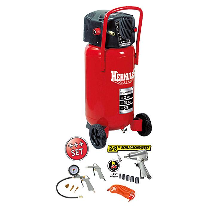 Favorit HERKULES Kompressor-Set Fifty + Kit bei BAUHAUS kaufen GH76