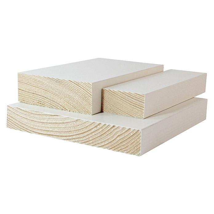 Quadratleiste Weiss 1000 x 20 x 20 mm