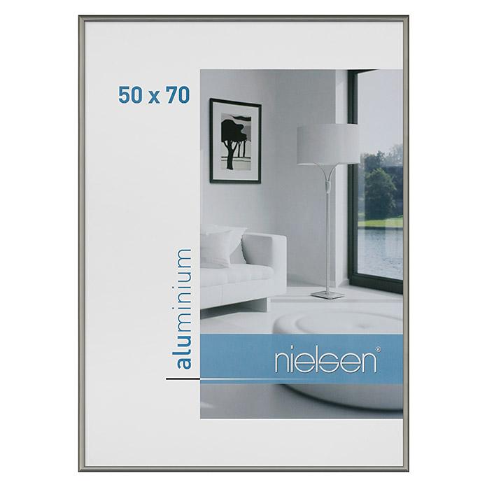 Cadre photo Nielsen Classic gris contrasté 50 x 70 cm