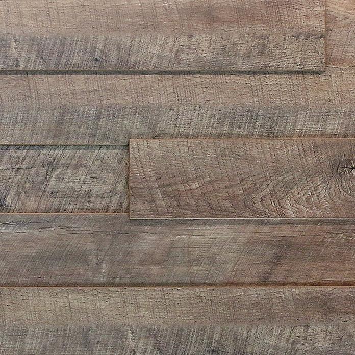 Panneaux pour les cloisons et les plafonds LOGOCLIC WALL EFFECT 3D Chêne Luga