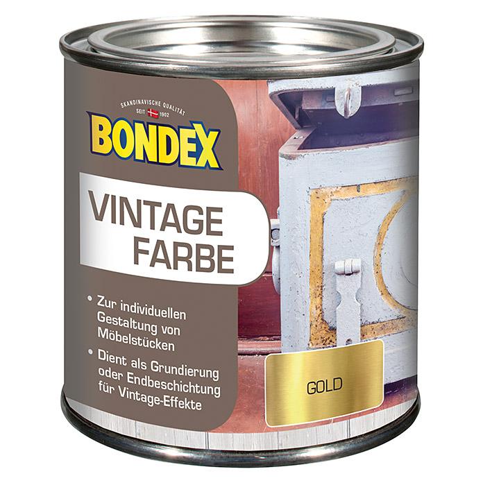 BONDEX Vintage Farbe Gold Bei BAUHAUS Kaufen