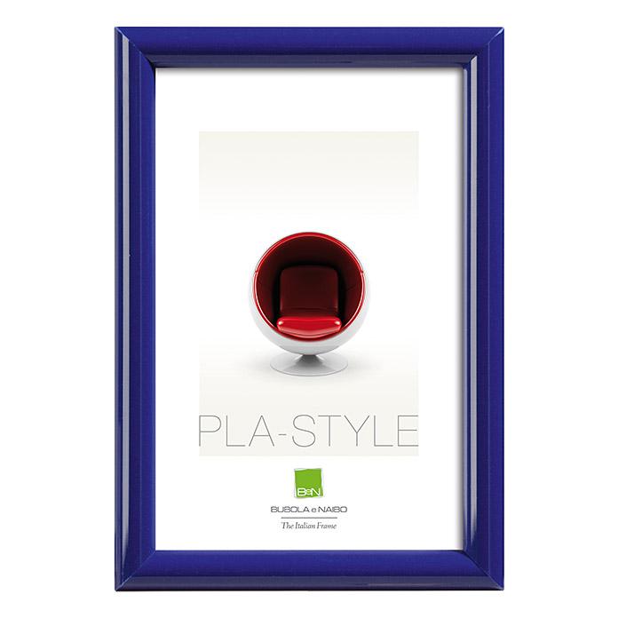 Kunststoffbilderrahmen Pla-Style Blau 50 x 60 cm