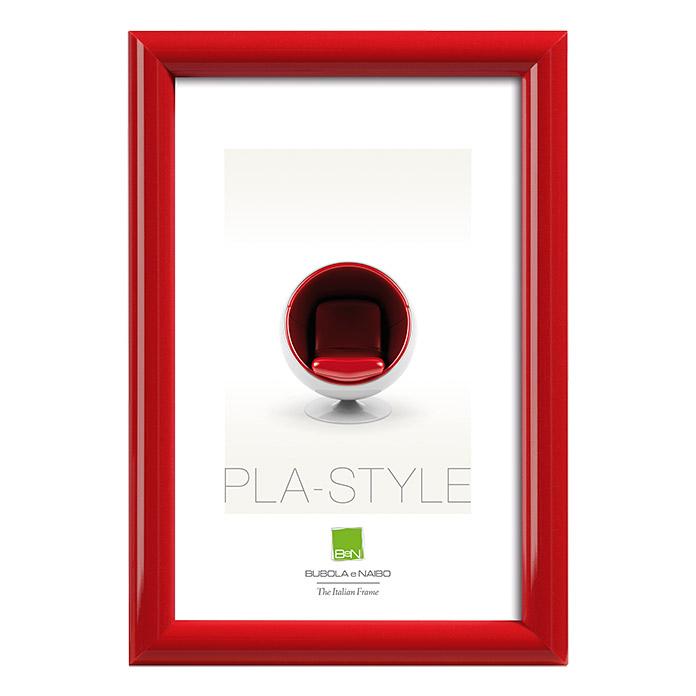 Kunststoffbilderrahmen Pla-Style Rot 10 x 15 cm