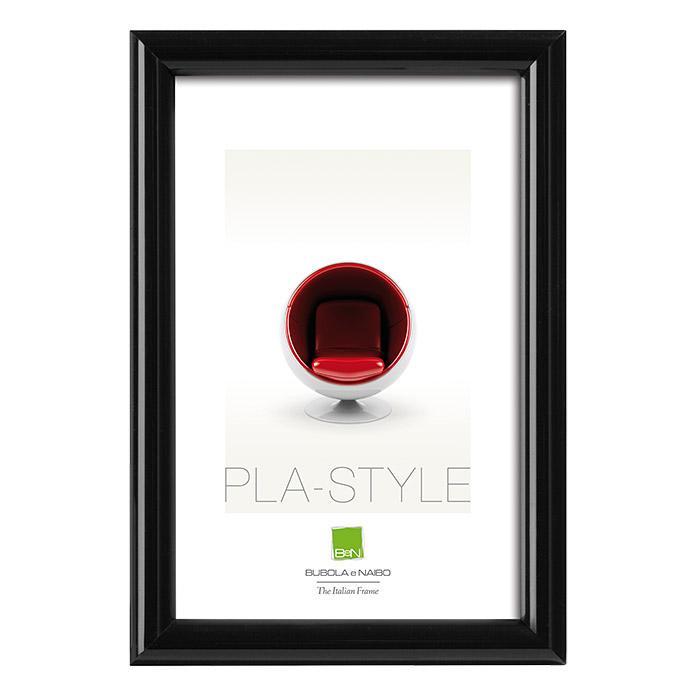 Cadre photo en plastique Pla-Style noir 50 x 70 cm