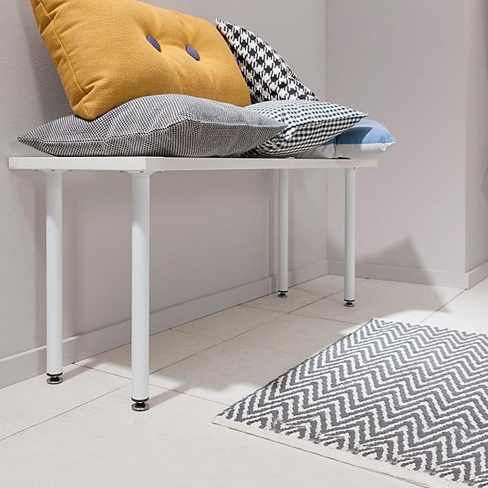 ELEMENT SYSTEM Jeu de pieds de meuble Burgund 70 cm