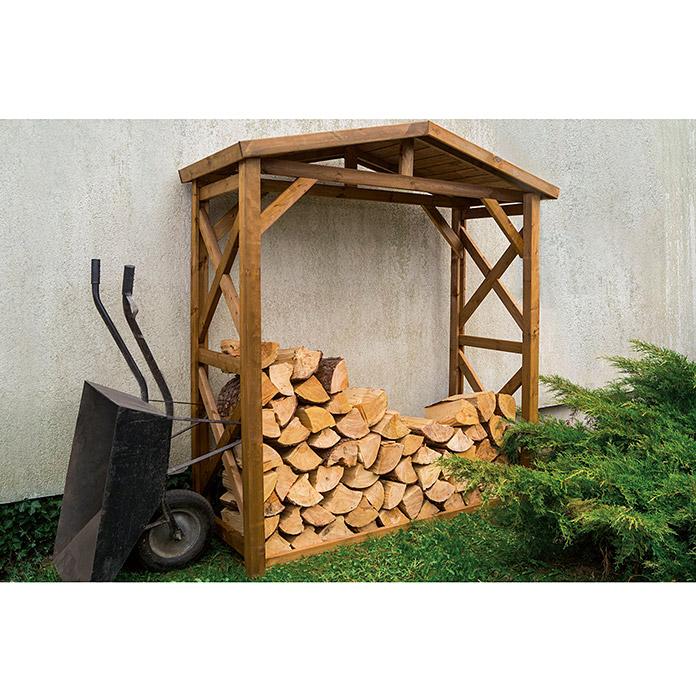 Etagère à bois de chauffage