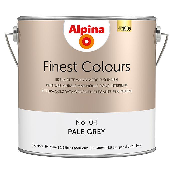 Peinture murale Alpina Finest Colours Pale Grey