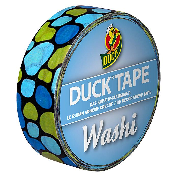 DUCK TAPE Washi ruban adhésif Aqua cobbles