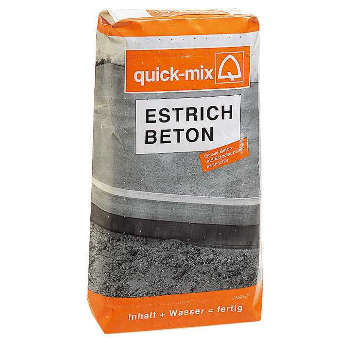 estrich beton hornbach