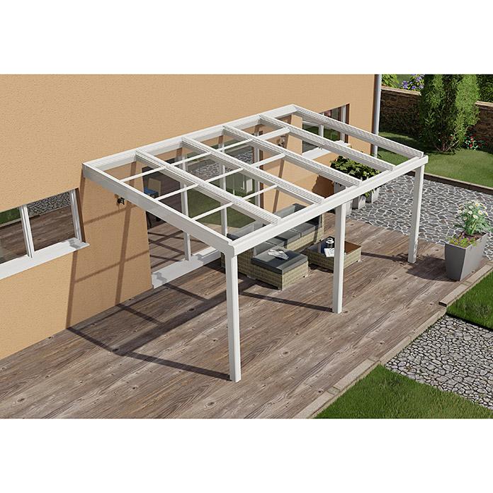 Auvent de terrasse Special Edition avec toit coulissant 5 x 3.5 m
