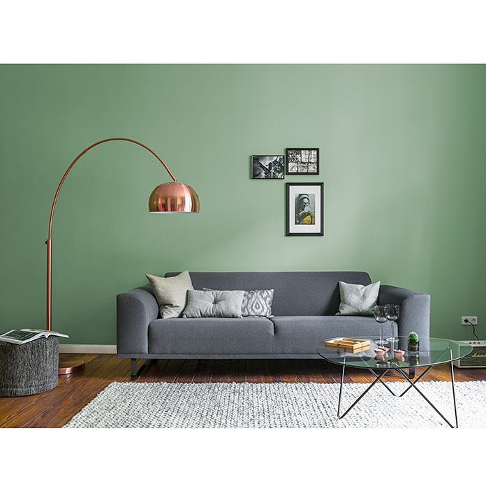 Alpina Wandfarbe: Alpina Finest Colours Wandfarbe Generous Green Bei BAUHAUS