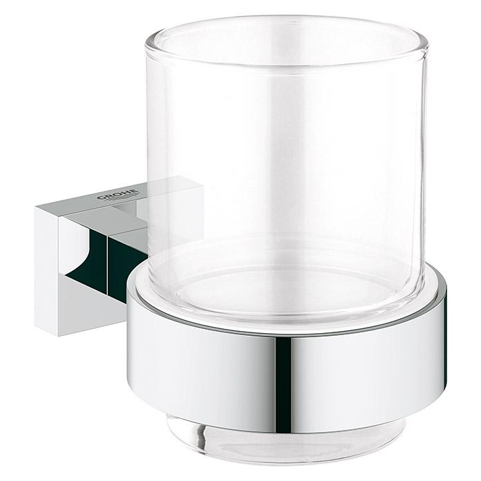 GROHE Zahnputzbecher Essentials Cube