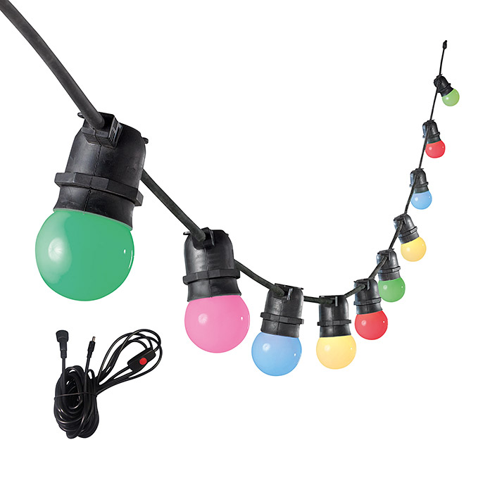 SunPower Elements LED-Partylichterkette