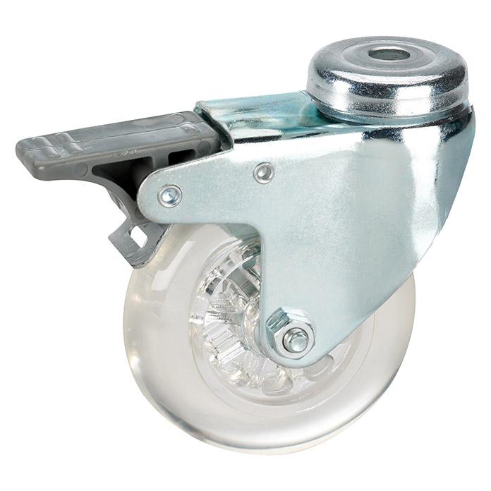 STABILIT Roulette pivotante avec frein Capacité de charge 50 kg
