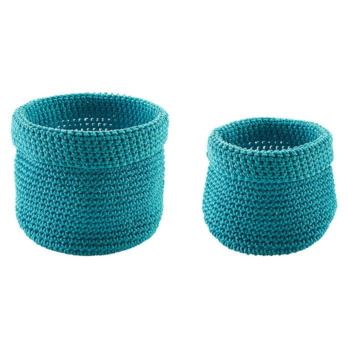 diaqua Ensemble de paniers tricotés