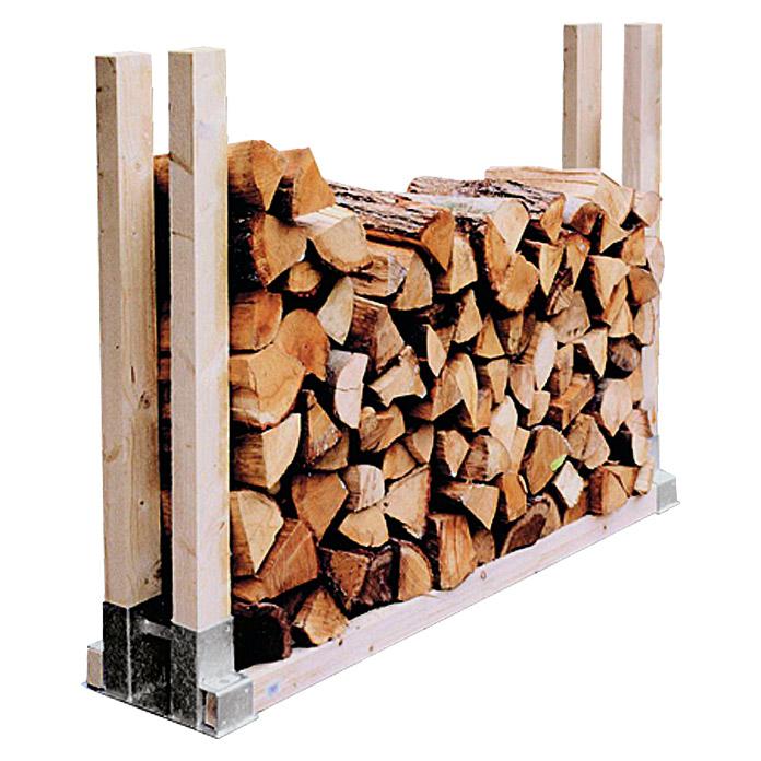 STABILIT Holzstapelhalter
