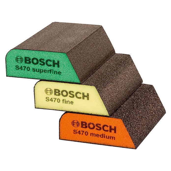 Bosch Schleifschwamm-Set Profile