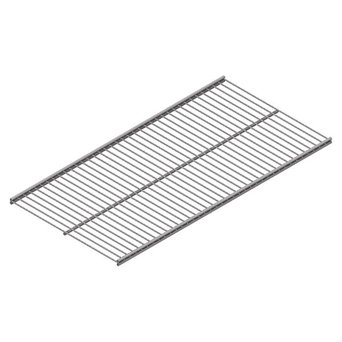 Twin Drahtboden Vario Weiss/Aluminium