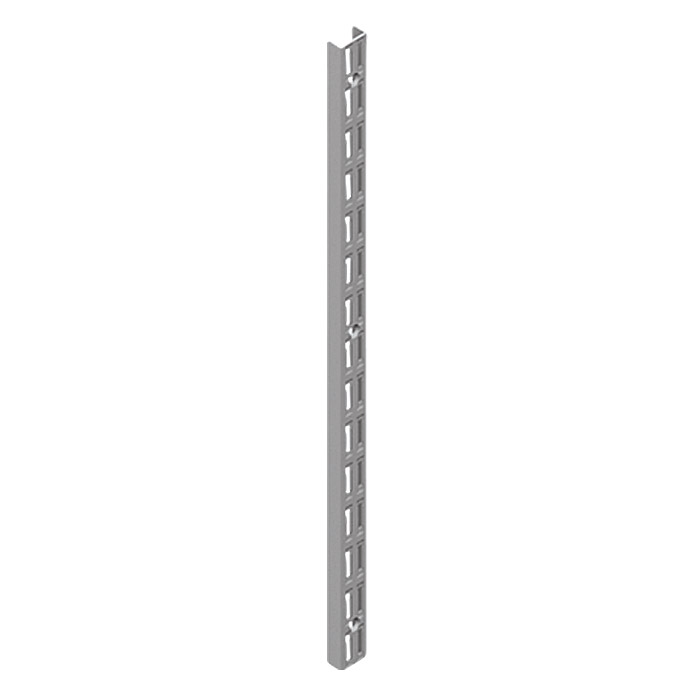 Classic Wandschiene EL 32 Weiss/Aluminium 140 cm