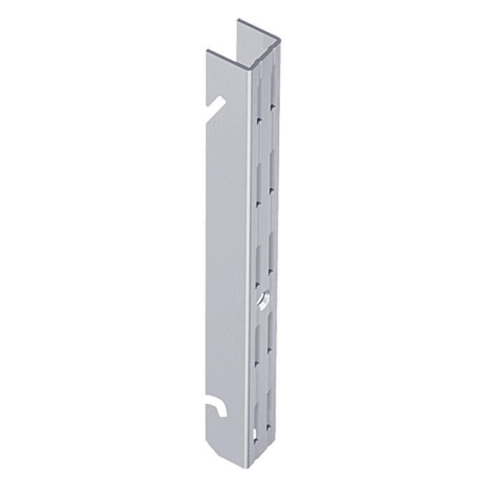 Easy Hängeschiene 32 Weiss/Aluminium 200 cm