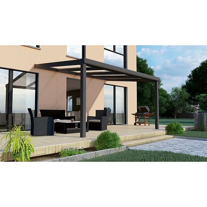 Terrassenüberdachung Special Edition 4 x 3.5 m