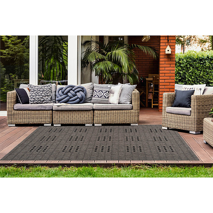Outdoorteppich Sunset Taupe
