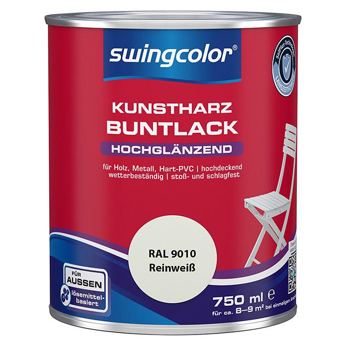 swingcolor laque colorée résine synthétique blanc pur haute brillance