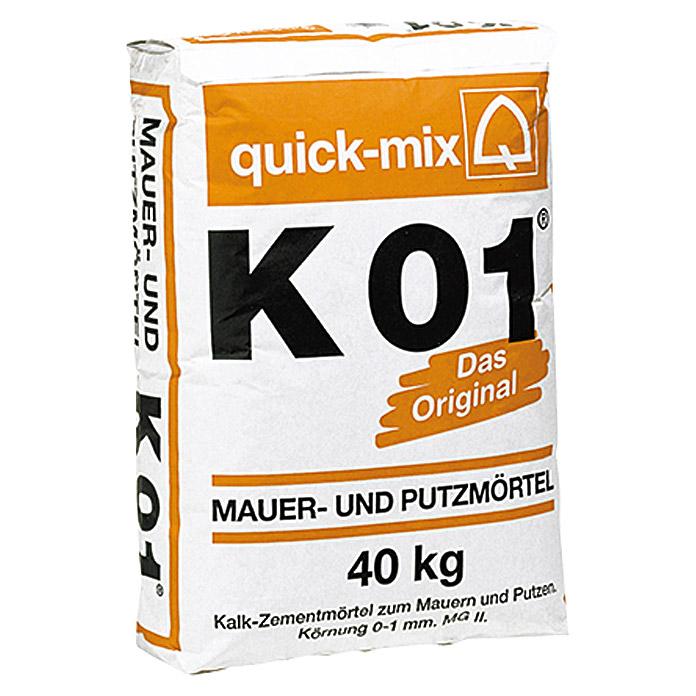 Beliebt quick-mix Mauer- und Putzmörtel K01 bei BAUHAUS kaufen KG92