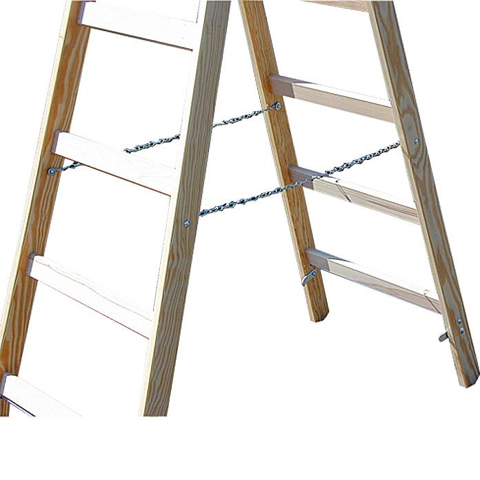 Krause echelle en bois à double échelon 2 x 6