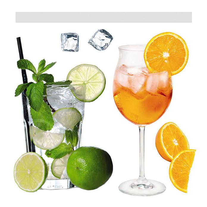 Komar Windowsticker Cocktails
