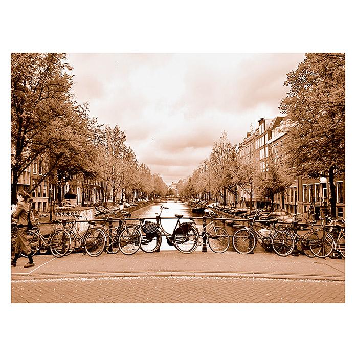 Leinwand Amsterdam center